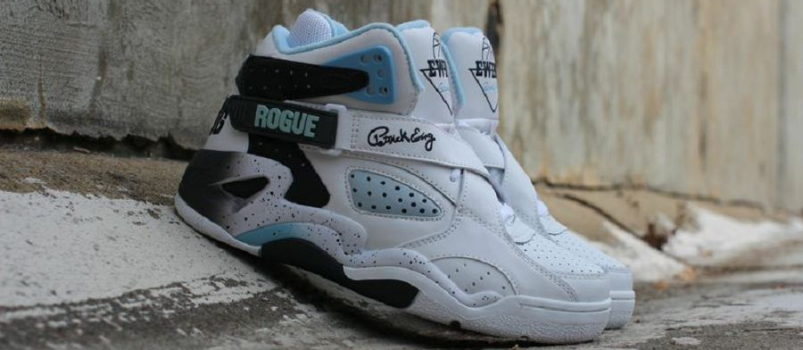 Ewing Athletics Rogue Retro – White/ Shadow/ Dream Blue Detailed Images