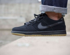 Ishod Wair's SB Dunk Gets The Black/ Gum Treatment