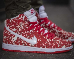 "Nike Dunk High Premium SB – The ""Raw Meat"" Is Released"