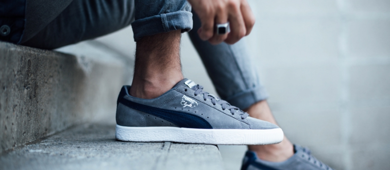 Connecting hoodlums and basketball: Puma Clyde B&C Pack