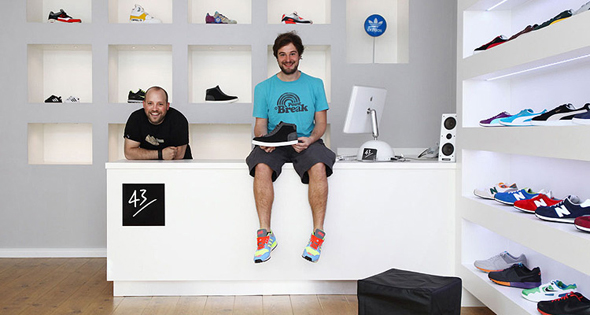 43einhalb sneaker store sneakers magazine. Black Bedroom Furniture Sets. Home Design Ideas