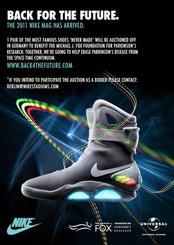Nike Air Mag in Berlin! Sneakers Magazine