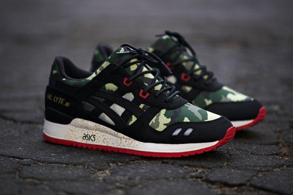 ASICS GEL LYTE III x BAIT 'BASICS 001 VANQUISH' Sneakers