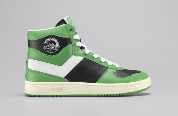 k-City Wings Leather Black_White_Green (2)