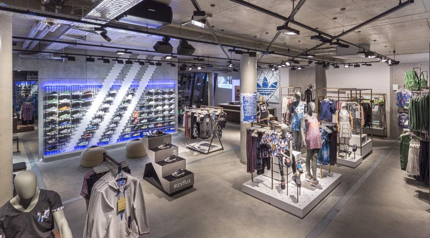 Outlet Shop Zalando | Adidas Flagship Store In Berlin Joins