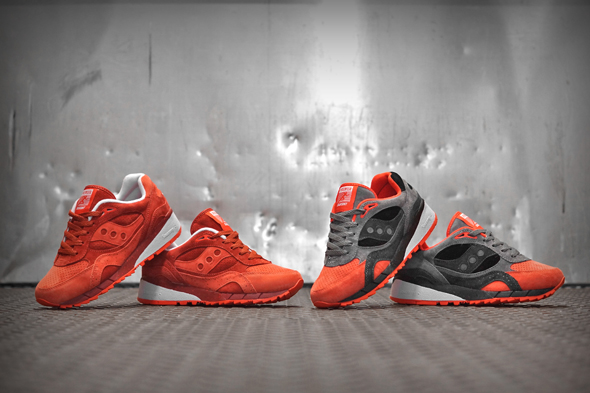 "f668d466c2eb ""The Premier x Saucony Shadow 6000 ""Life on Mars"" pack consists of two  suede Shadow 6000s that will be sold separately. One pair is made up of  various ..."