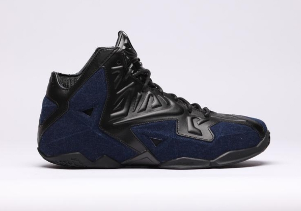 Nike-Lebron-XI-EXT-DENIM-Black-Blue