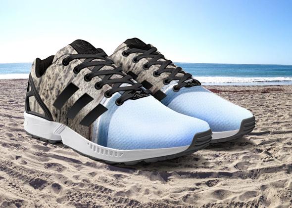 agudo implícito Mismo  adidas ZX Flux x miadidas - Sneakers Magazine