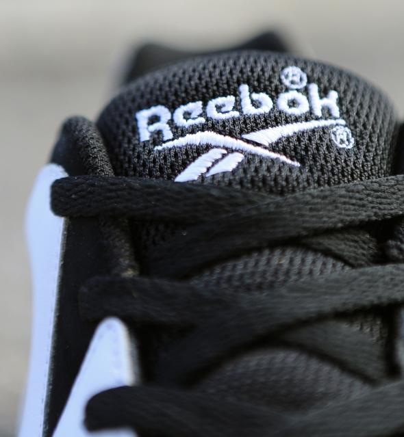 Reebok Kamikaze II Low Retro Black White