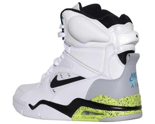 Nike Air Command Force White Wolf Grey Volt Black Images