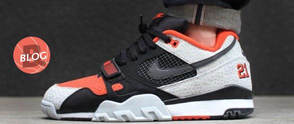 Compulsión atravesar Impotencia  Nike Air Trainer 2 PRM QS - Black/ Black-Team Orange-Wolf Grey Release Info