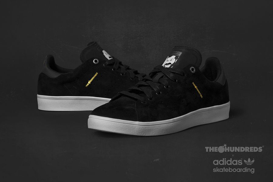 brand new 623a0 79390 The Hundreds x Adidas Stan Smith Vulc - Sneakers Magazine
