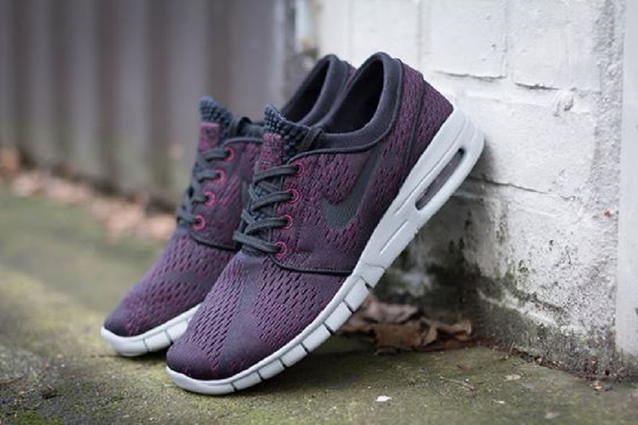 exclusive shoes 50% price nice shoes Nike SB Stefan Janoski Max - Villain Red/ Black-Wolf Grey Release Info