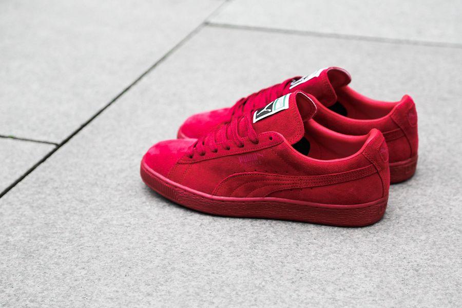 Puma Suede Klassisk Sneaker Rødt yZgbdUtmC