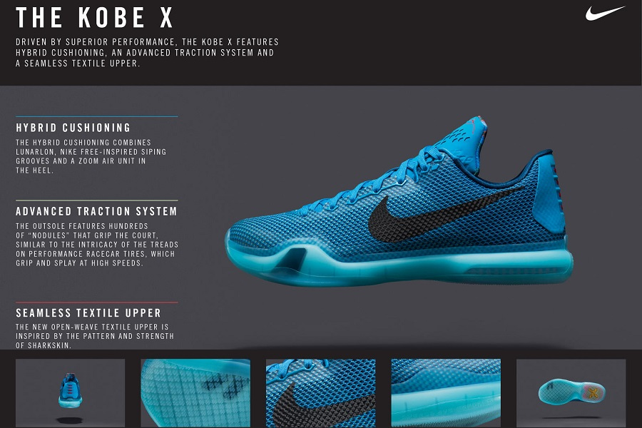 reputable site a0f28 4e314 Nike Kobe X Officially UnveiledNike Kobe X Officially Unveiled