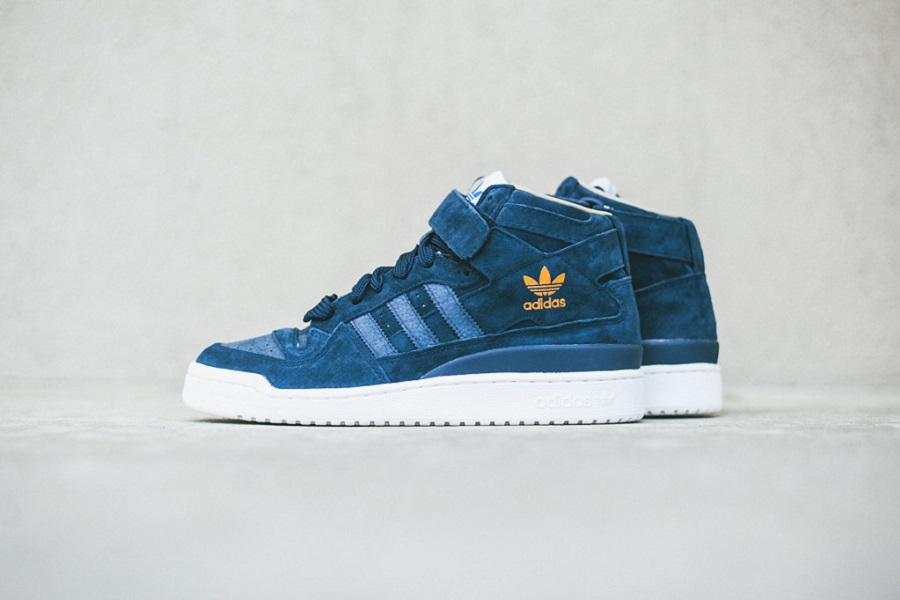 adidas Forum Mid - Navy/ White Images