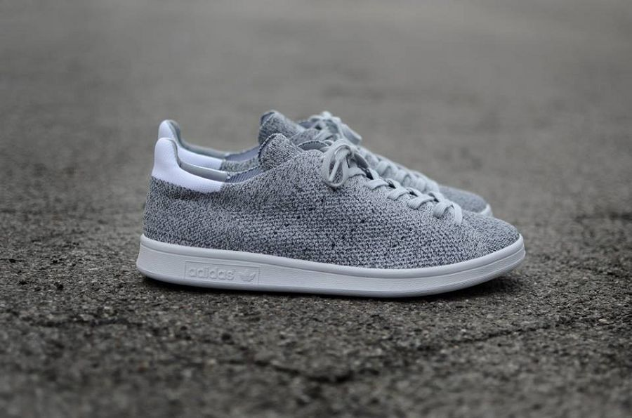 hot sale online bb509 28ce0 adidas Stan Smith Primeknit NM - Grey/ White Available