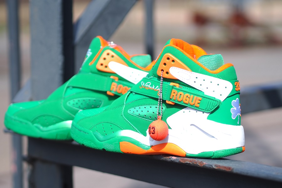 more photos b3caf f26c7 Ewing Athletics – St. Patrick s Day   Red Suede Guard AvailableEwing  Athletics – St. Patrick s Day   Red Suede Guard Available