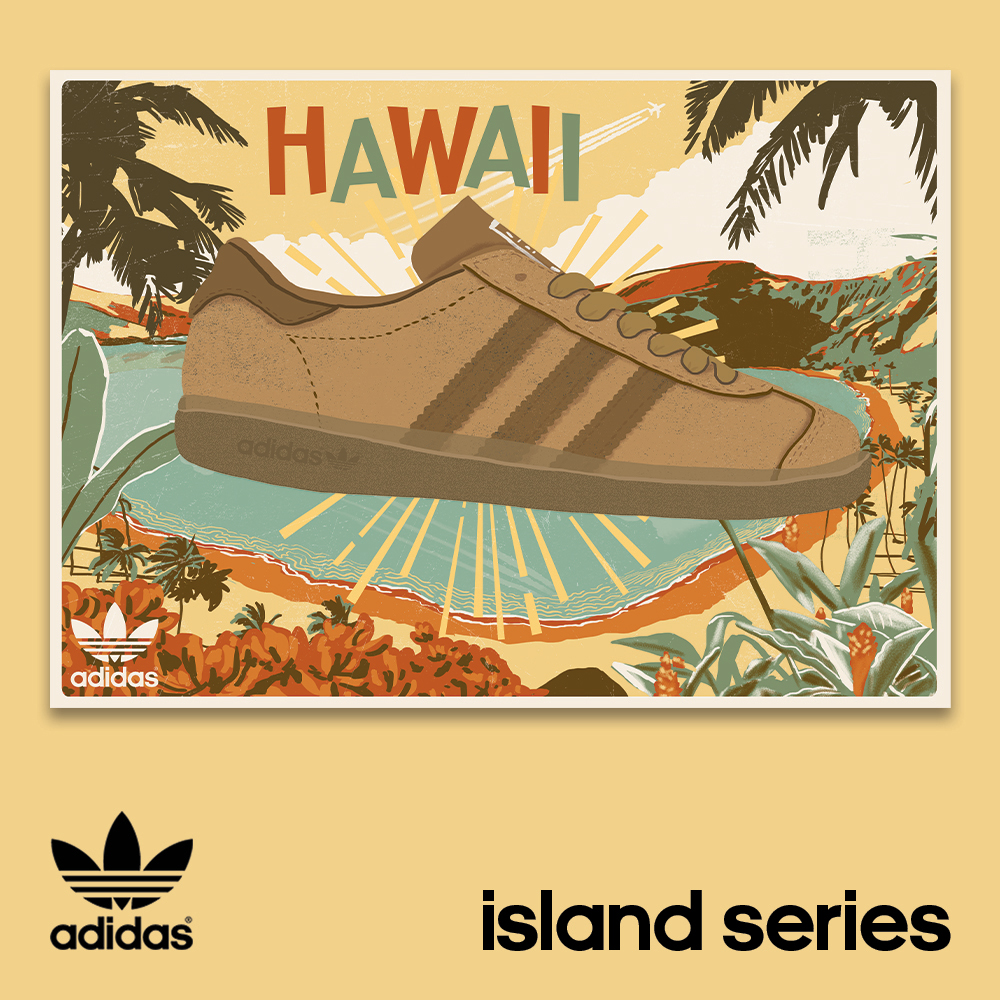 adidas originals 'Island Series' Hawaii | Adidas sneakers