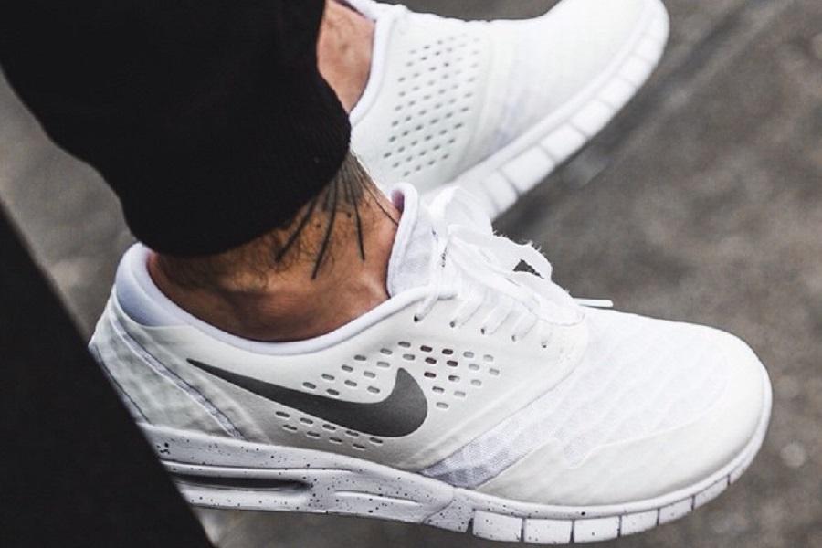 Nike SB Eric Koston 2 Max White Metallic Silver Release Info