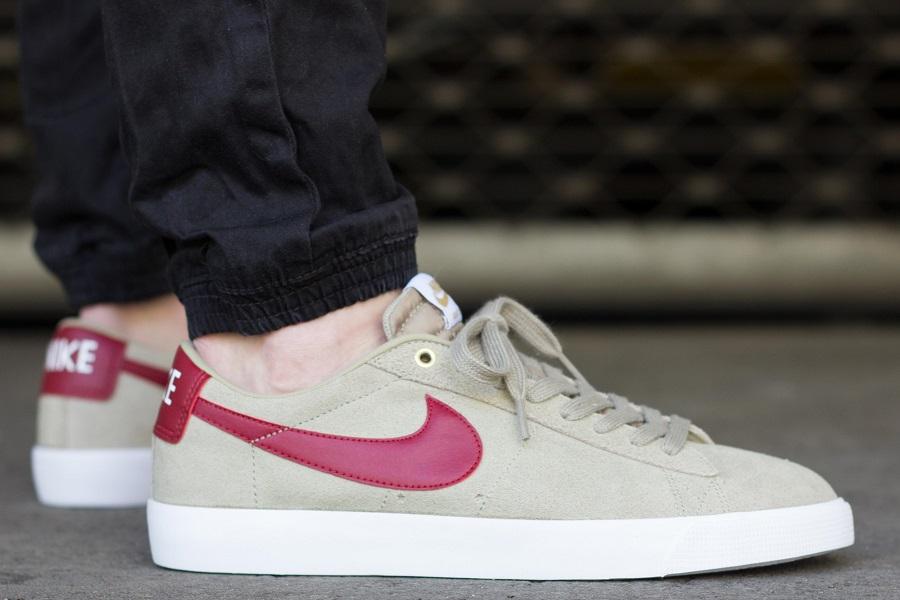 best sneakers bbc32 3d6a3 Nike SB Blazer Low GT - Bamboo Release Info