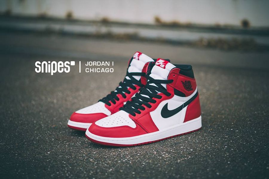Air Jordan 1 Retro High OG – White/ Varsity Red-Black 2015 ...