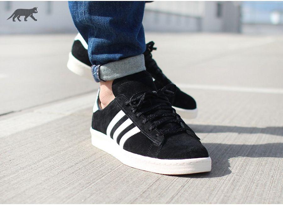 adidas Campus 80s - Core Black / Off
