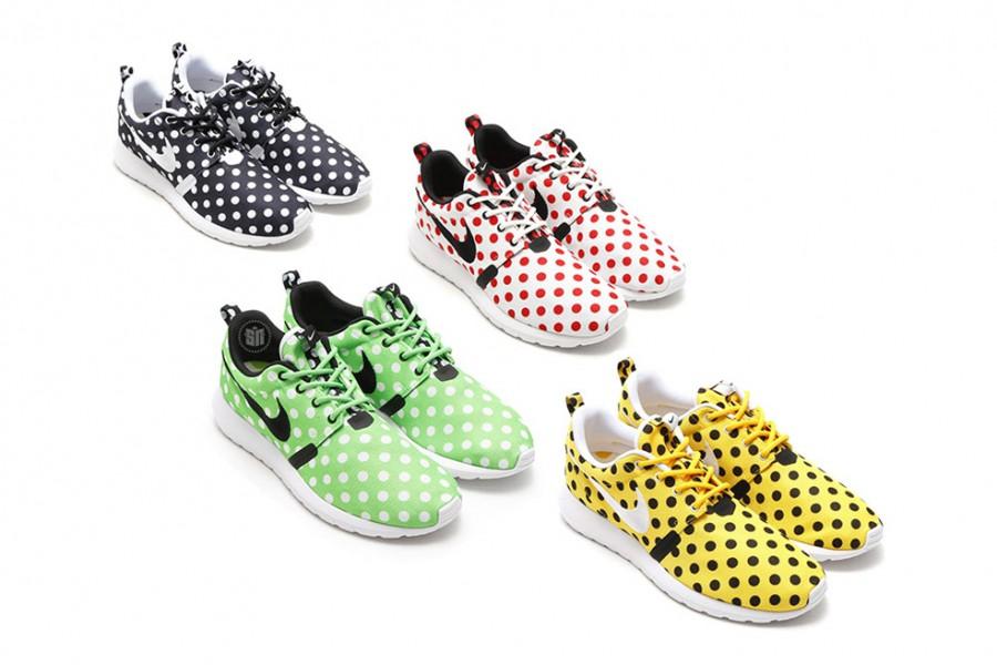 Nike Polka Dot Sneakers