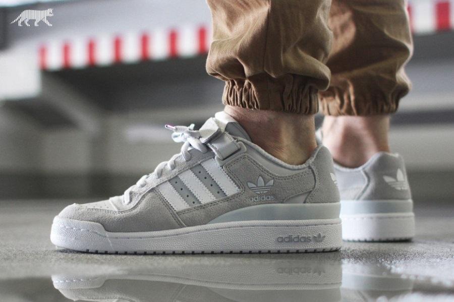 adidas Originals Forum Low Cool Grey   Sole Collector