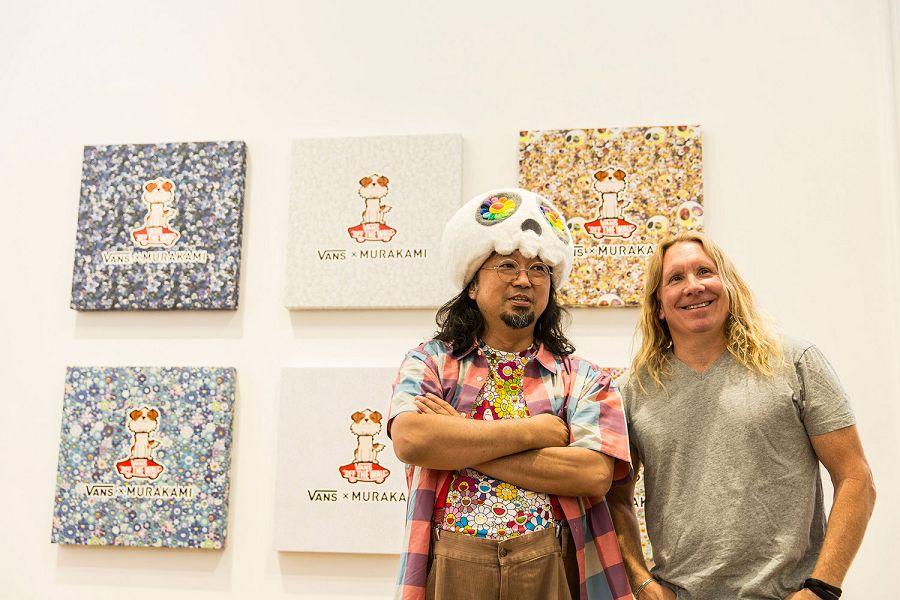 k-Takashi Murakami and Steve Mills