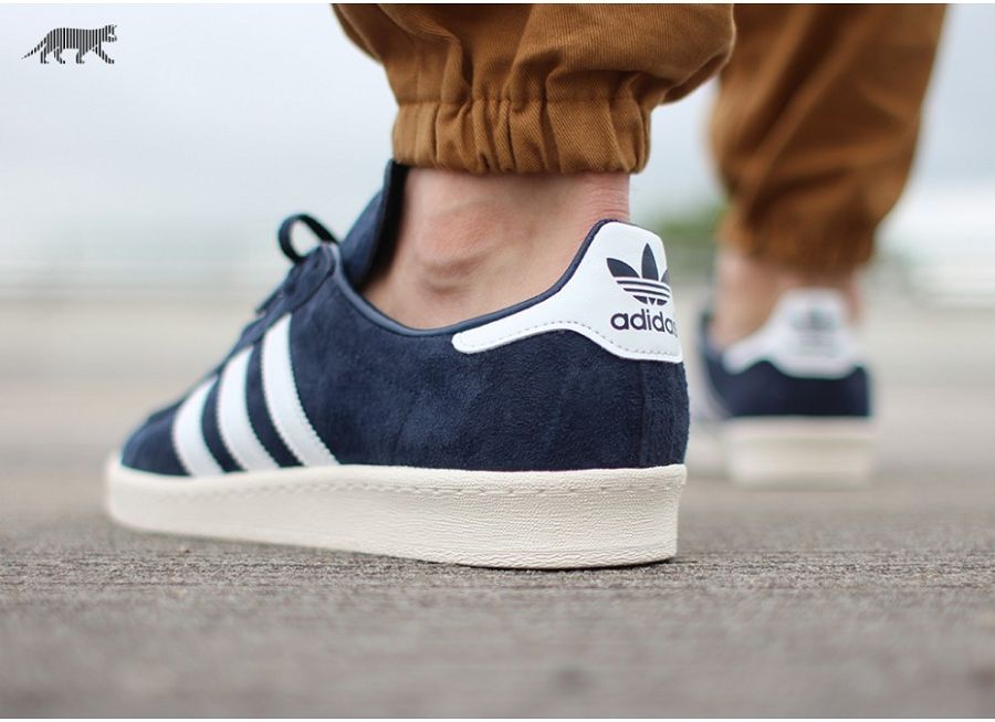 cheaper clearance prices great prices adidas Campus 80s Japan Navy/ Off White/ Core White Release Info