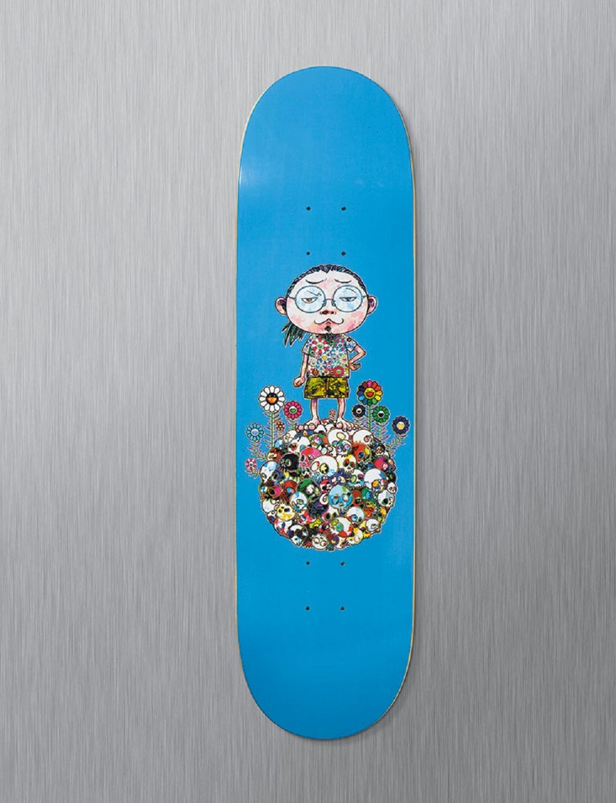 k-murakami-skate-deck-world