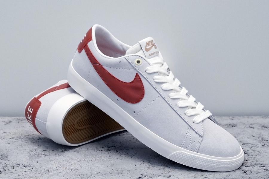 check out ca263 afd71 Nike SB Blazer Low GT – Ivory/ Cinnabar–Metallic Gold ...