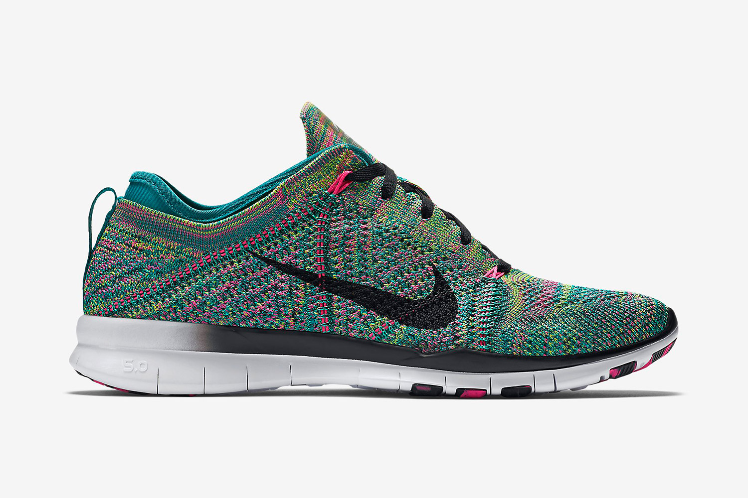 "21e8c5fc3ad Nike will release their Free TR 5 Flyknit silhouette in the ""multicolor  2.0″ colorway shortly after bringing out the Flyknit Racer in the same  colorway."
