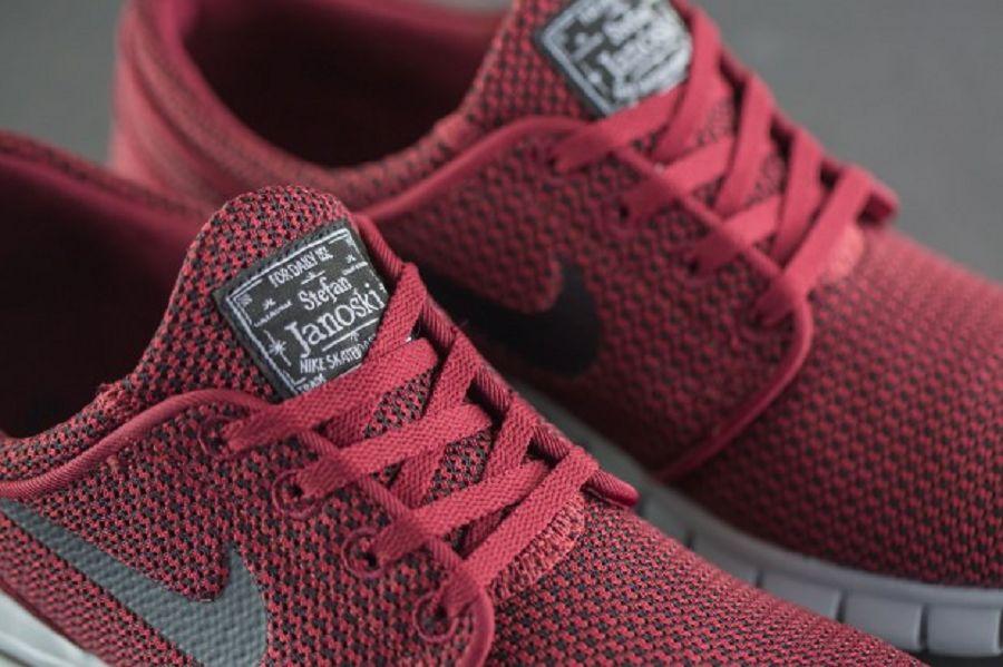 big discount new lower prices high quality Nike SB Stefan Janoski Max - Team Red/ Black-Wolf Grey ...