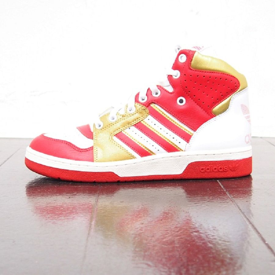 adidas Originals Instinct Hi OG Red White Gold Images