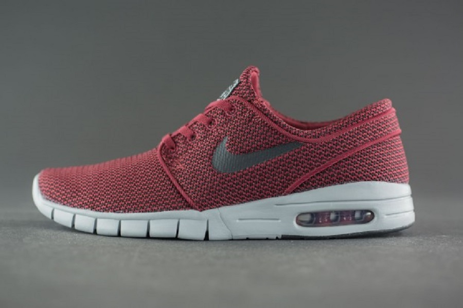 uk availability 44842 64501 Nike SB Stefan Janoski Max – Team Red Black-Wolf Grey Release InfoNike SB  Stefan Janoski Max – Team Red Black-Wolf Grey Release Info