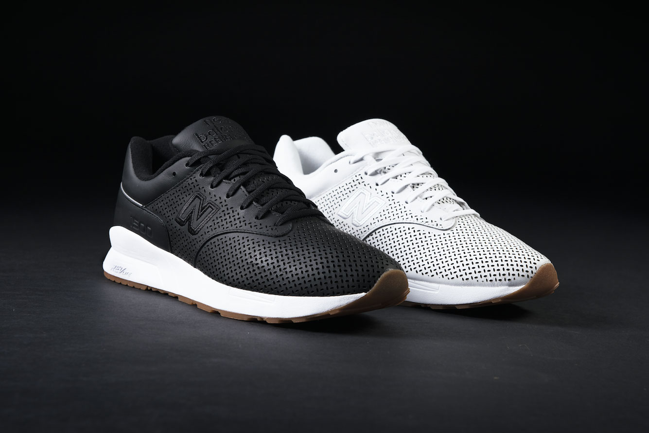 new balance 1500 black leather