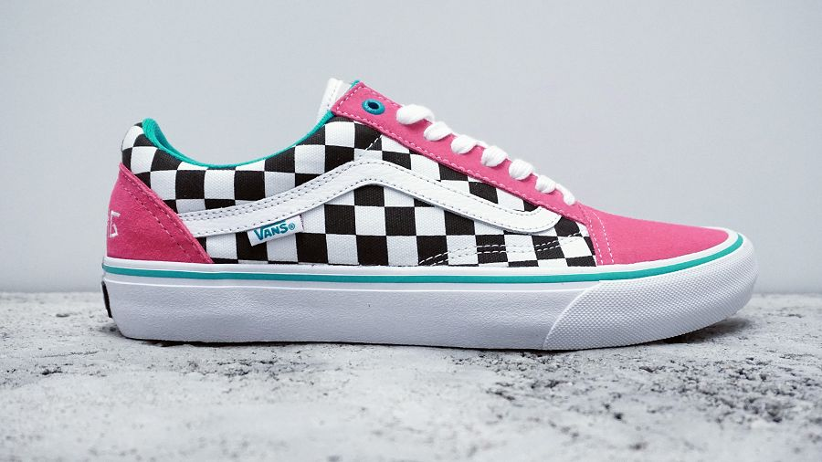 k-Old Skool Pro Golf Wang Blue Pink White2