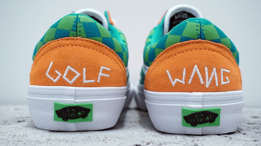 k-Old Skool Pro Golf Wang Orange6
