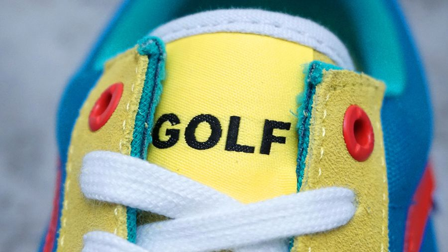 k-Old Skool Pro Golf Wang Yellow Blue Red6