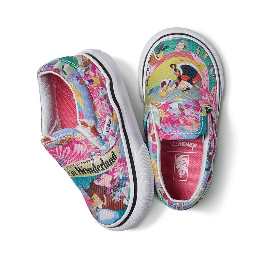 k-Disney-T-ClassicSlipOn-WonderlandPink-H