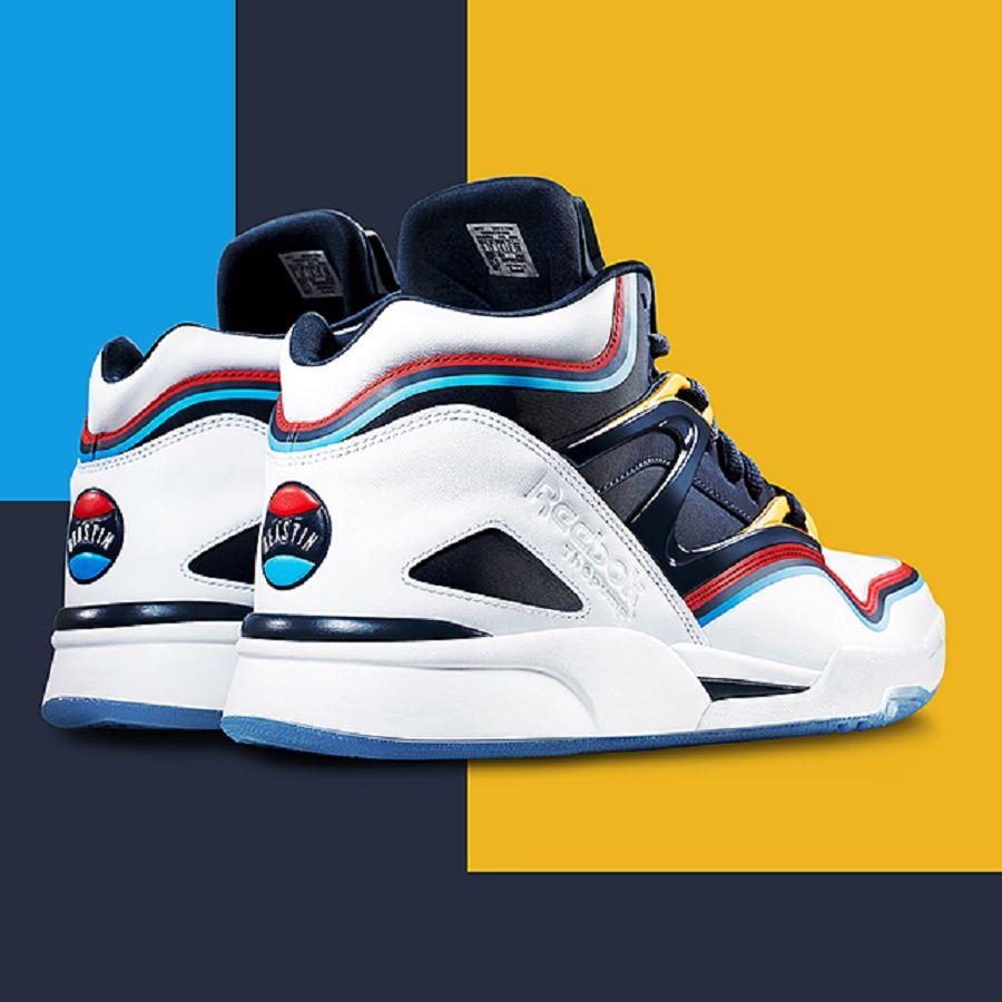 afew store sneaker reebok x beastin pump omni lite white
