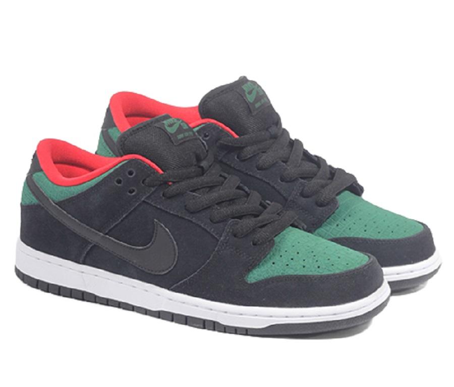 Tienda online diseño atemporal online Nike Dunk Low Pro SB - Black/ Gorge Green-Challenge Red Released