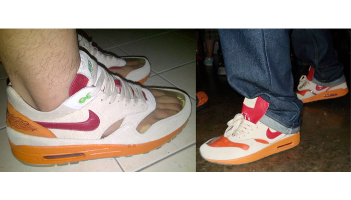 c9324bfcdb96 You all knew the Air Max 1 Clot would be part of this ranking. It s got a  window. With socks it looks pretty stupid and ...