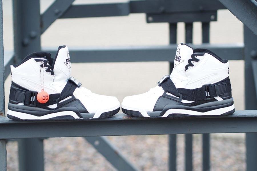 separation shoes bea7b 57680 Ewing Athletics Ewing Concept White Black  Ewing Athletics November 15  Retro Collection ...
