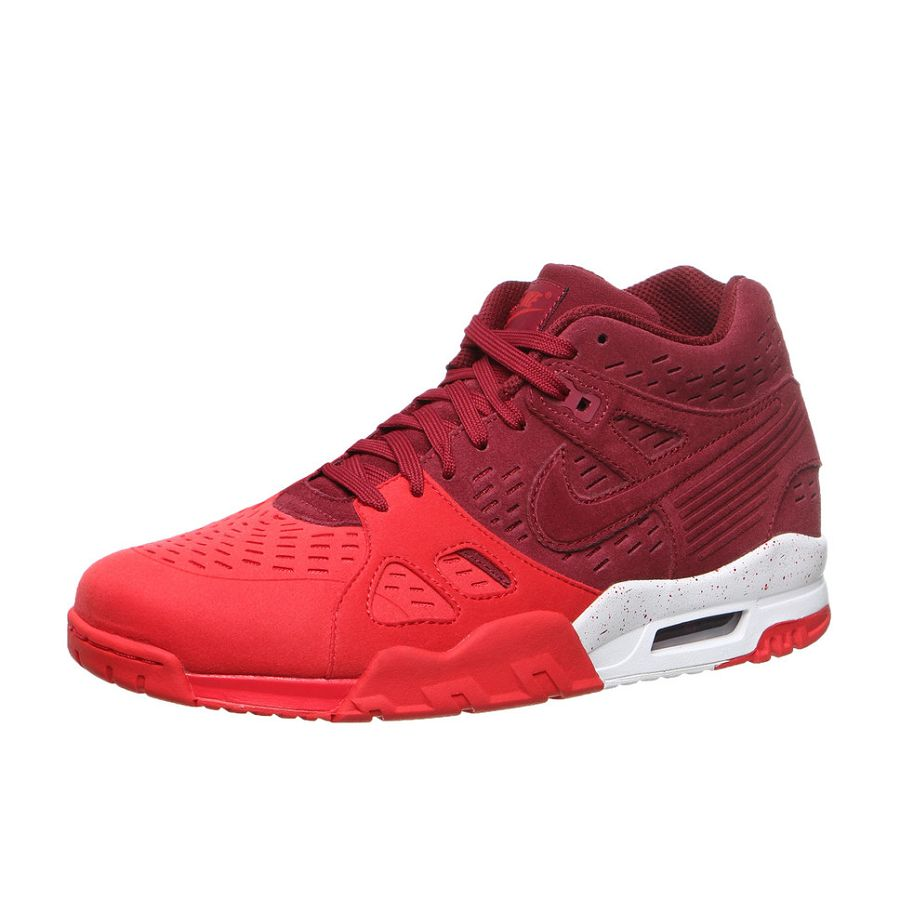 realce pasión académico  Nike Air Trainer 3 LE - Team Red/ University Red-White Release Info