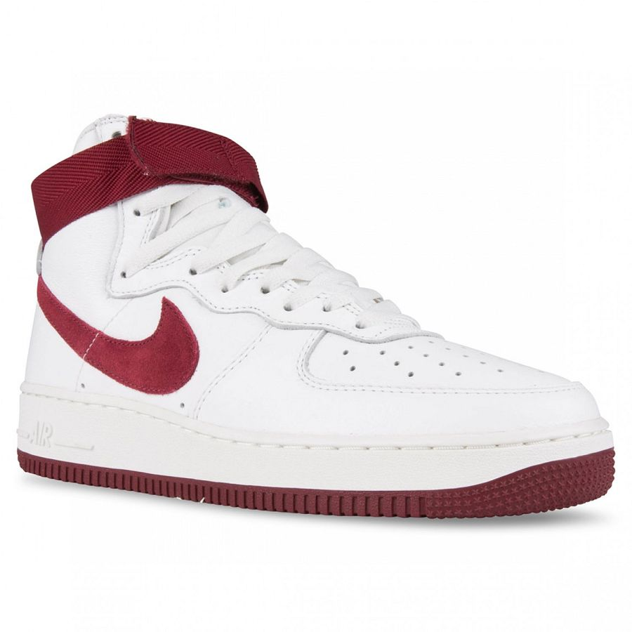 Nike Air Force 1 High Retro QS White Team Red First Images