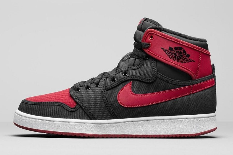 brand new 8aaa8 23134 Air Jordan 1 KO High OG Retro – Black/ Varsity Red Release Info. By admin