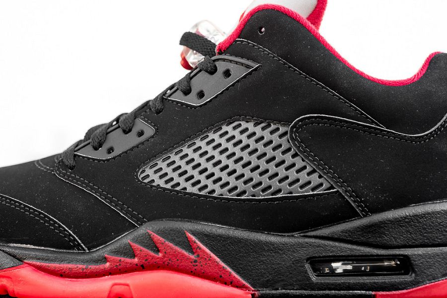 k-Air-Jordan-5-Retro-Low-Black-Gym-Red-Metallic-Silver-5